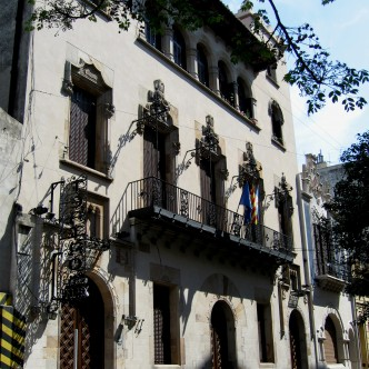 Façana modernista del Casal Català de Buenos Aires