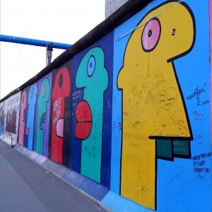murals, east side gallery, mur de berlín, artistes, Ignasi Blanch