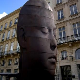 Sana; escultura; Jaume Plensa; Plensa; Bordeus; escultor català