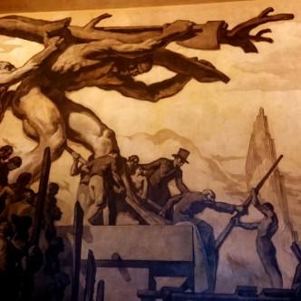 mural Sert; RCA Building; Rockefeller Center; Josep Maria Sert; pintor català
