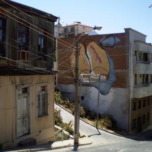 Josep Balmes, artistes catalans, Xile, Valparaiso, Museo a Cielo Abierto