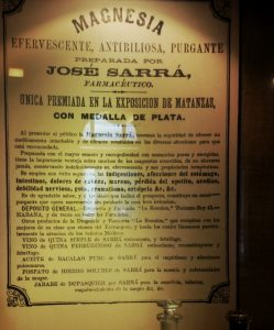 Drogueria Sarrá, Sarrà, Farmàcia, Cuba, Habana, La Reunión