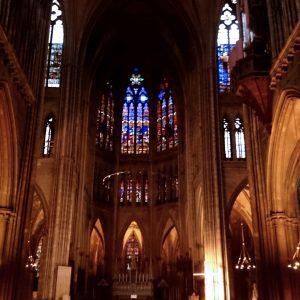 interior catedral de Metz